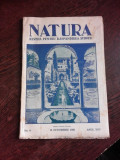 REVISTA NATURA NR.8/1936