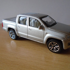 Macheta auto Volkswagen Amarok, Bburago, 1:43