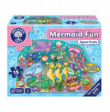Cumpara ieftin Puzzle de podea Distractia Sirenelor - Mermaid fun, orchard toys