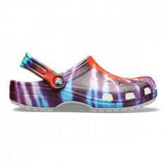 Saboți Adulti Unisex casual Crocs Classic Tie-Dye Graphic Clog