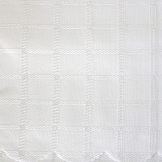 Fata de masa poliester 150x120cm alba Raki