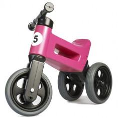 Tricicleta fara Pedale Rider Sport 2 in 1 Roz