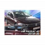 Paravanturi Geam Auto auto VW Passat B8, an fabr. dupa 2014 ( Marca Heko - set FATA + SPATE )