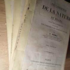 PHILOSOPHIE DE LA NATURE DE HEGEL VOL.1-3 - A. VERA