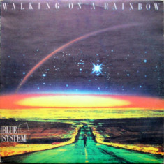 Blue System - Walking On A Rainbow (LP - Bulgaria - VG)