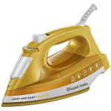 Fier de calcat Light & Easy Brights Mango 24800-56, talpa ceramica colorata, 2400 W, 0.24 l, 90 g/min, galben/alb
