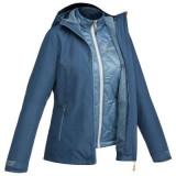 Jachetă 3în1 TRAVEL 500 Damă