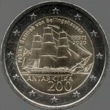 ESTONIA moneda 2 euro comemorativa 2020_Antarctica - UNC, Europa, Cupru-Nichel