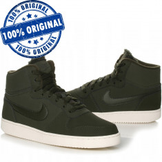 Pantofi sport Nike Ebernon Mid pentru barbati - adidasi originali - piele