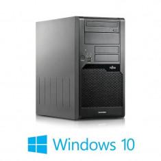 Calculatoare Refurbished Fujitsu ESPRIMO P5730, Core 2 Duo E7400, Win 10 Home