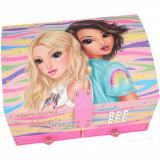 Cutie de Bijuterii mare cu cod Keep Smiling Top Model Depesche PT10865Roz