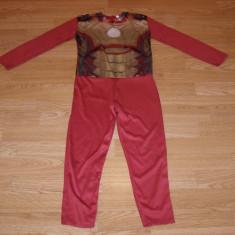 costum carnaval serbare ironman iron man pentru copii de 6-7 ani