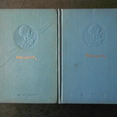 N. OSTROVSKI - OPERE 2 volume (1955, editie cartonata)