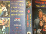 SOLOMON 'S CHOICE   ( Judecata Lui Solomon   ) - 1992 Caseta VHS Originala