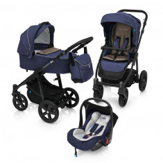 Carucior 3 in 1 Baby Design Lupo Comfort 03 Navy
