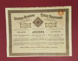 Actiuni petrol 1925 Steaua romana - titlu industria petrolului