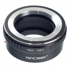 K&F Concept M42-NEX adaptor montura M42- Sony E-Mount (NEX)
