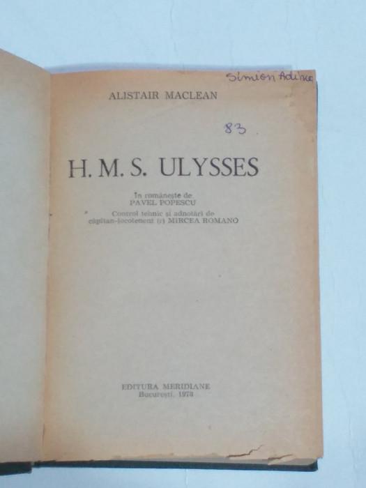 ALISTAIR MACLEAN - H.M.S. ULYSSES