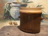Arta / Design - Vaza deosebita din ceramica cu marcaj Kk Danmark Keramik !