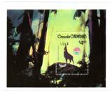 Grenada Grenadines 1980 - Craciun, Bambi, colita neuzata