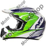 MBS Casca motocross AFX FX-17 Factor, XL, verde/alb/albastru, Cod Produs: 01104556PE