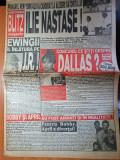 ziarul blitz magazin nr 23-art ilie nastase,kylie minougue,prince,tina turner