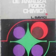 APARATE DE ANALIZA FIZICO-CHIMICA - L. SAVICI