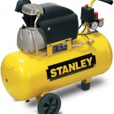 Compresor de aer Stanley STN006 cu ulei, 2 CP, 50 L, 8 BAR
