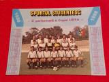Foto fotbal - echipa SPORTUL STUDENTESC BUCURESTI (anul 1988)