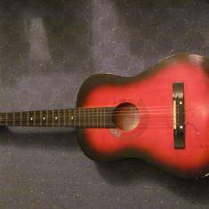 PVM - Chitara rece ROSE (mai) veche stare (foarte) buna lipsa o coarda