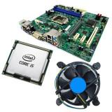 Kit Placa de baza Acer H81H3-AM, 4th gen, DDR3, Intel Core i5 4670S 3.1GHz, 4...