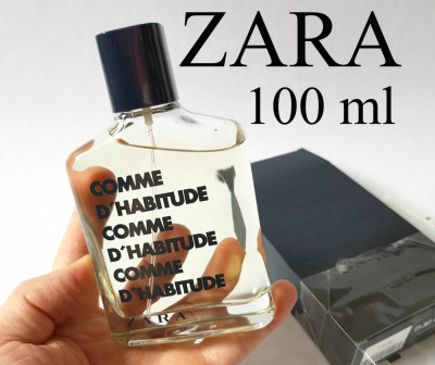 Parfum Barbati Zara Man Comme Dhabitude 100 Ml Nou Apa De Toaleta