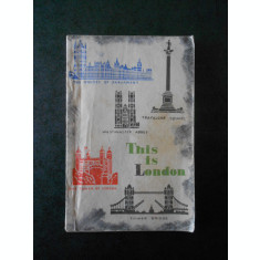 N. N. MARCOVA - THIS IS LONDON. READER FOR SENIOR FORM PUPILS