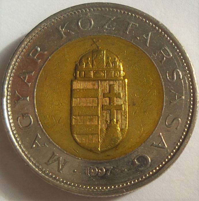 Moneda bimetal 100 FORINTI - UNGARIA, anul 1997 *cod 2313 A