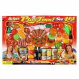 Set alimente de jucarie, 114 buc, multicolor