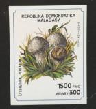 MADAGASCAR 1990 - 1x Ciuperci-7 val.+1S/Sh NEOBLITERAT -Mad16, Natura, Africa