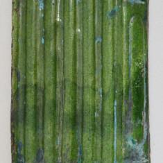 Cahla veche glazura verde