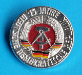 Insigna 15 ani DDR - Germania Democrata