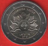LETONIA moneda 2 euro comemorativa 2019 - Soare, UNC, Europa, Cupru-Nichel