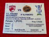 Bilet meci fotbal DINAMO BUCURESTI - IF ELFSBORG (20.09.2007)