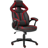 Scaun gaming Inaza Cobra Black/Red