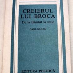 CREIERUL LUI BROCA.DE LA PAMINT LA STELE-CARL SAGAN 1989
