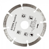 Disc diamantat segmentat pentru polizor unghiular STERN D115S, 115MM