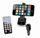 Cumpara ieftin Modulator FM AKAI FMT-8118BT cu suport telefon, Bluetooth