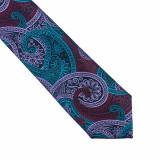 Cravata colorata paisley Richard, ONORE