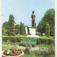 bnk cp Ramnicu Valcea - Statuia lui Mircea cel Batran - circulata