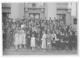 B2023 Elevi premianti liceu Gojdu director Teodor Nes Oradea anii 1930