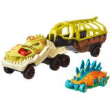 Cumpara ieftin Set Camion Si Masina Sport Hot Wheels Fossil Night, Mattel