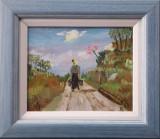 Peisaj cu femeie