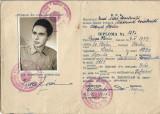 Diploma scoala tehnica constructii 1955 orasul Stalin